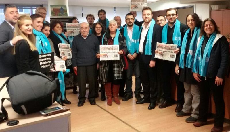 Посета на најстариот дневен весник во Турција Cumhuriyet