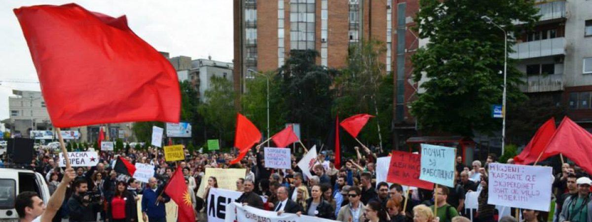 Првомајски протест
