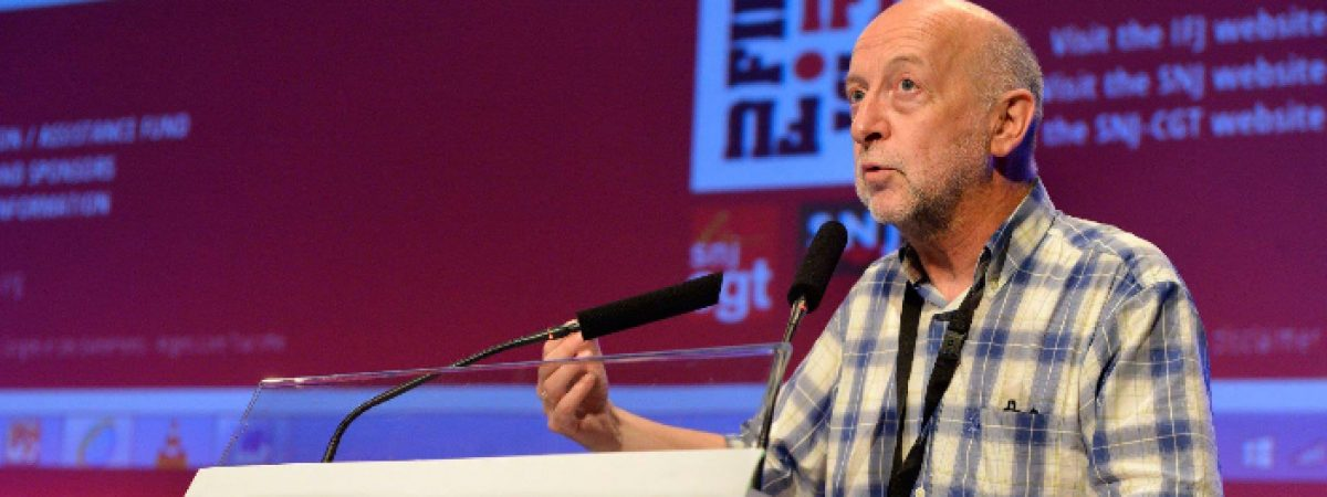 Philippe Leruth is the new IFJ President