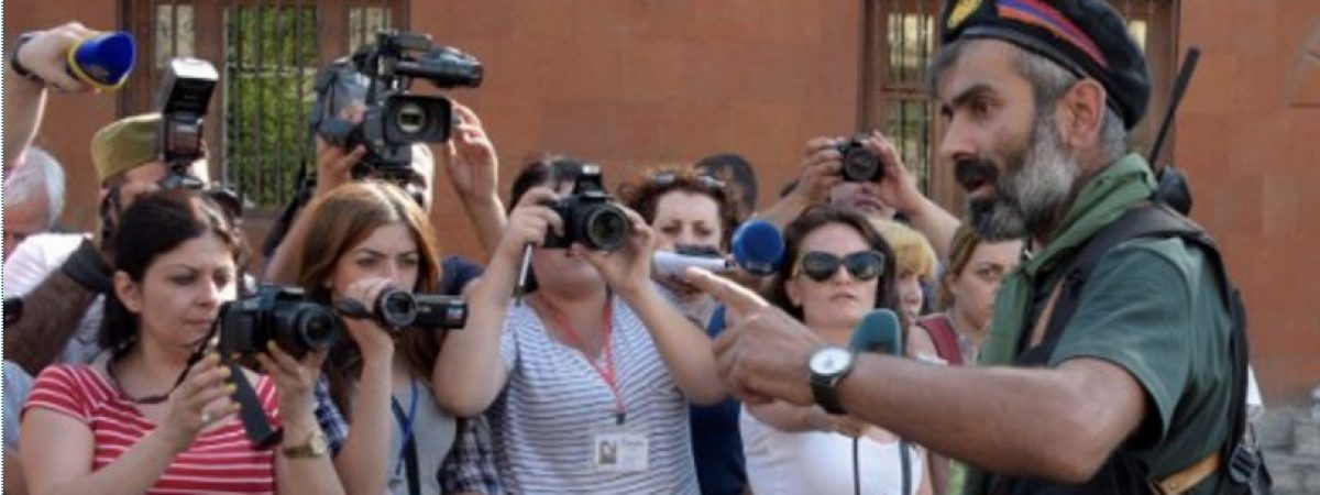 Armenia: excessive police force used against journalists covering demonstration