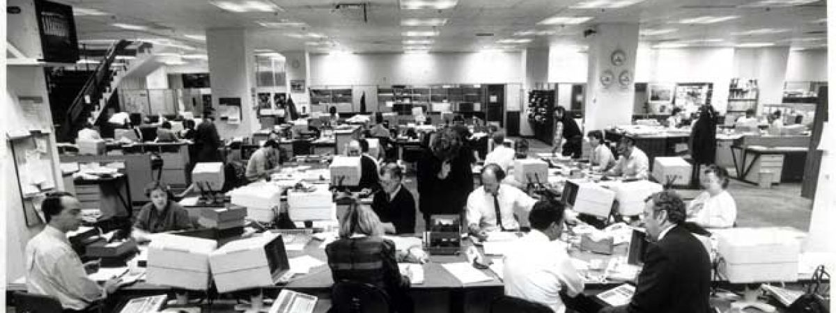 MOBBING INSIDE THE NEWSROOMS