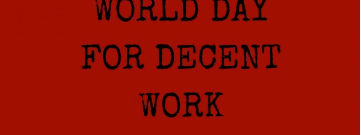 World Day for Decent work: secure collective bargaining for all journalists, says the IFJ