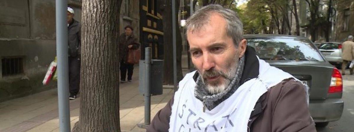 Serbia: Journalist Jovica Vasic broke a ten-day hunger strike