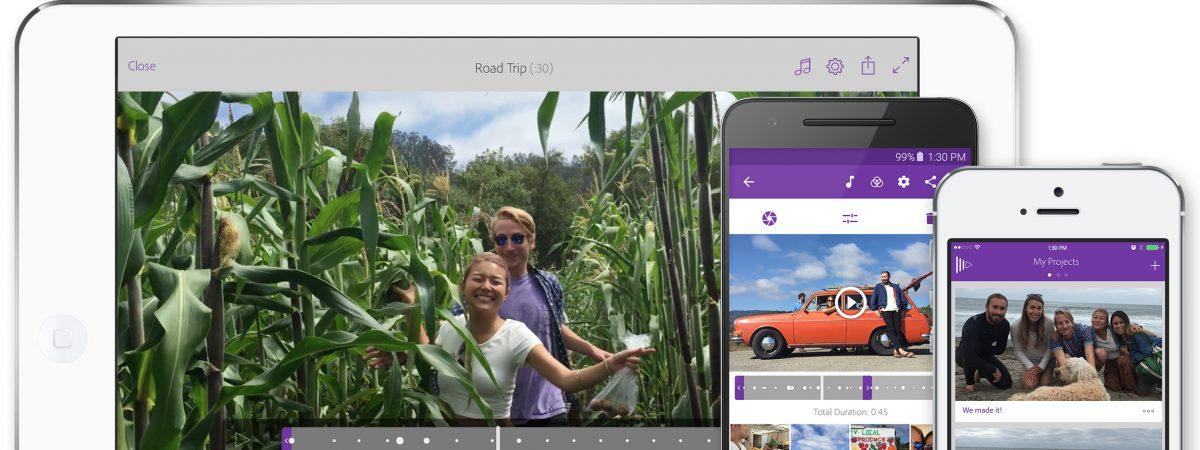 Adobe Premiere Clip: Видео уредувач за мобилни уреди