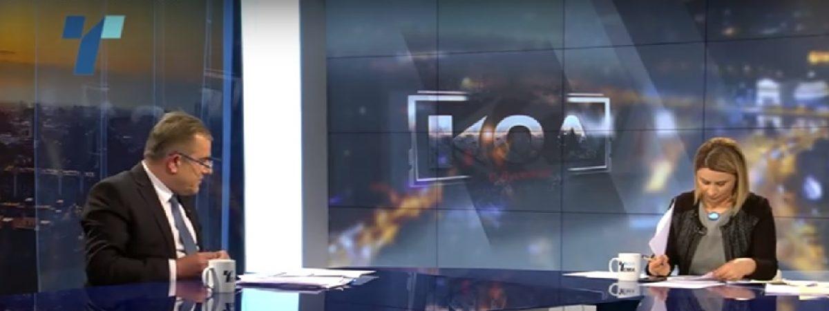 Осуда на заканите кон Лупевска и ТВ Телма