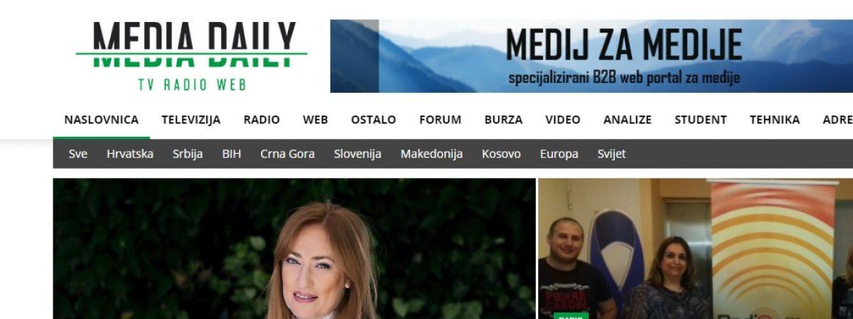 """""""Медија Дејли"""" – медиум на сите медиуми"""