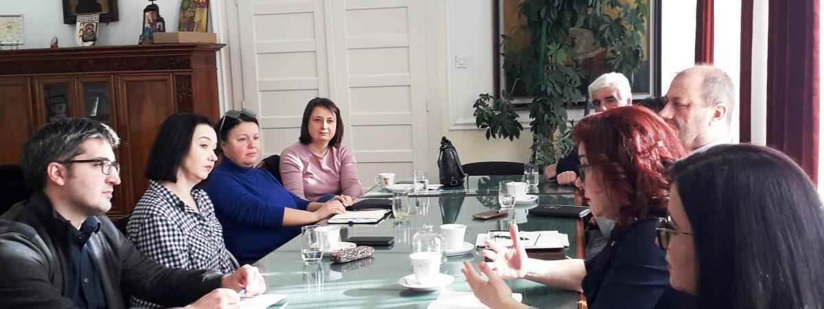 ССНМ и битолските новинари на средба со градоначалничката Петровска