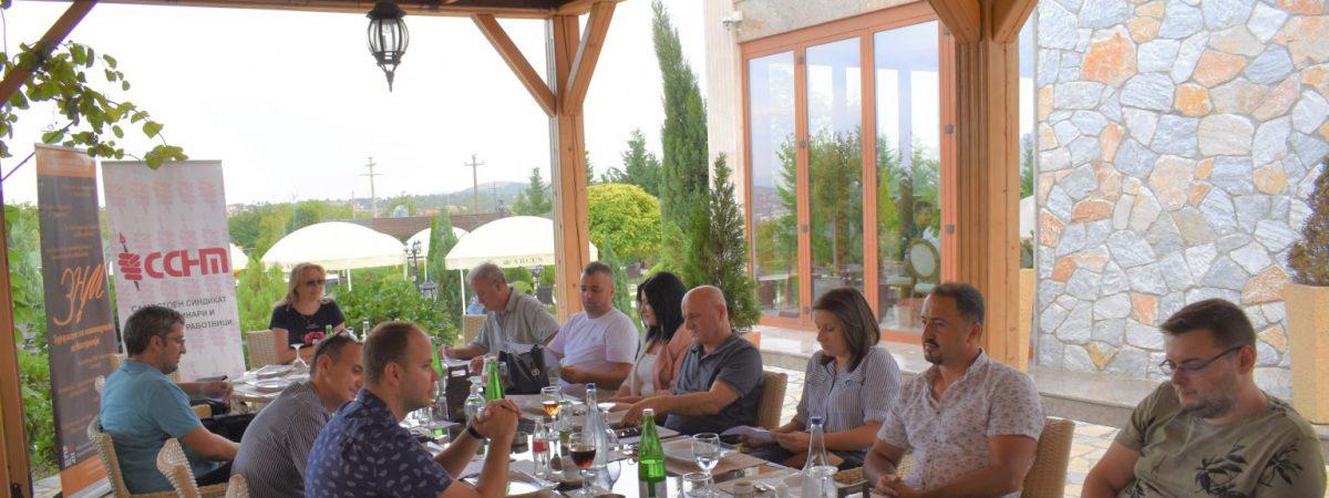 Регионална средба на ЗНМ и ССНМ со новинари и медиумски работници од Куманово